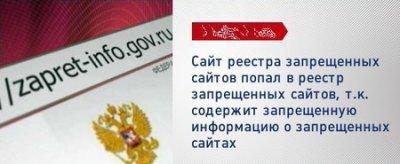 Обход российского реестра запрещенных сайтов
