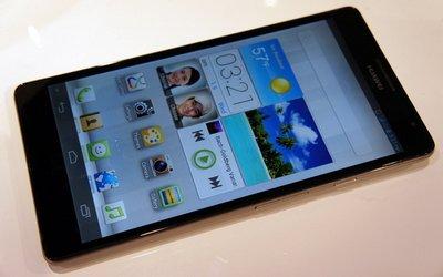 Huawei Ascend Mate - самый большой смартфон на платформе Android