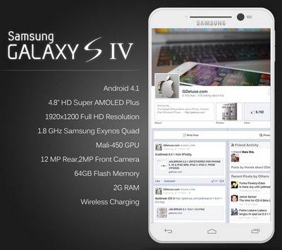 Новый смартфон Samsung Galaxy S IV