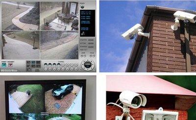 Монтаж видеонаблюдения для дачи