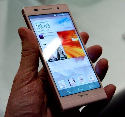 Новый Huawei Ascend P6